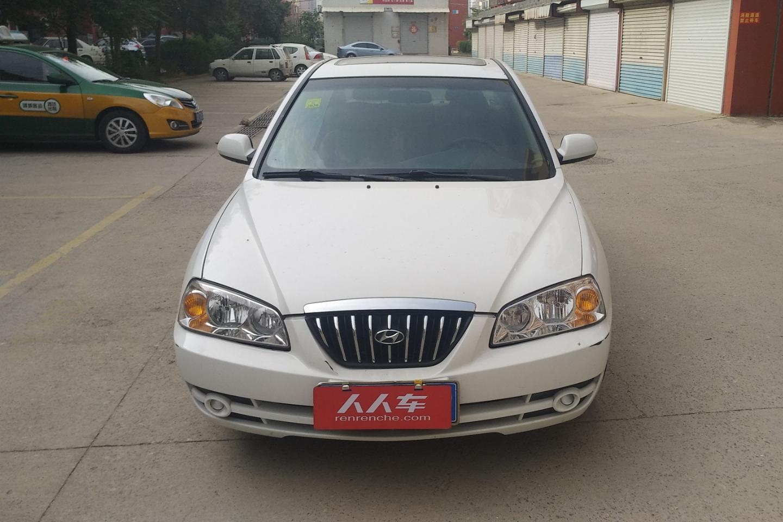 2005款  伊兰特  1.6L 自动豪华型