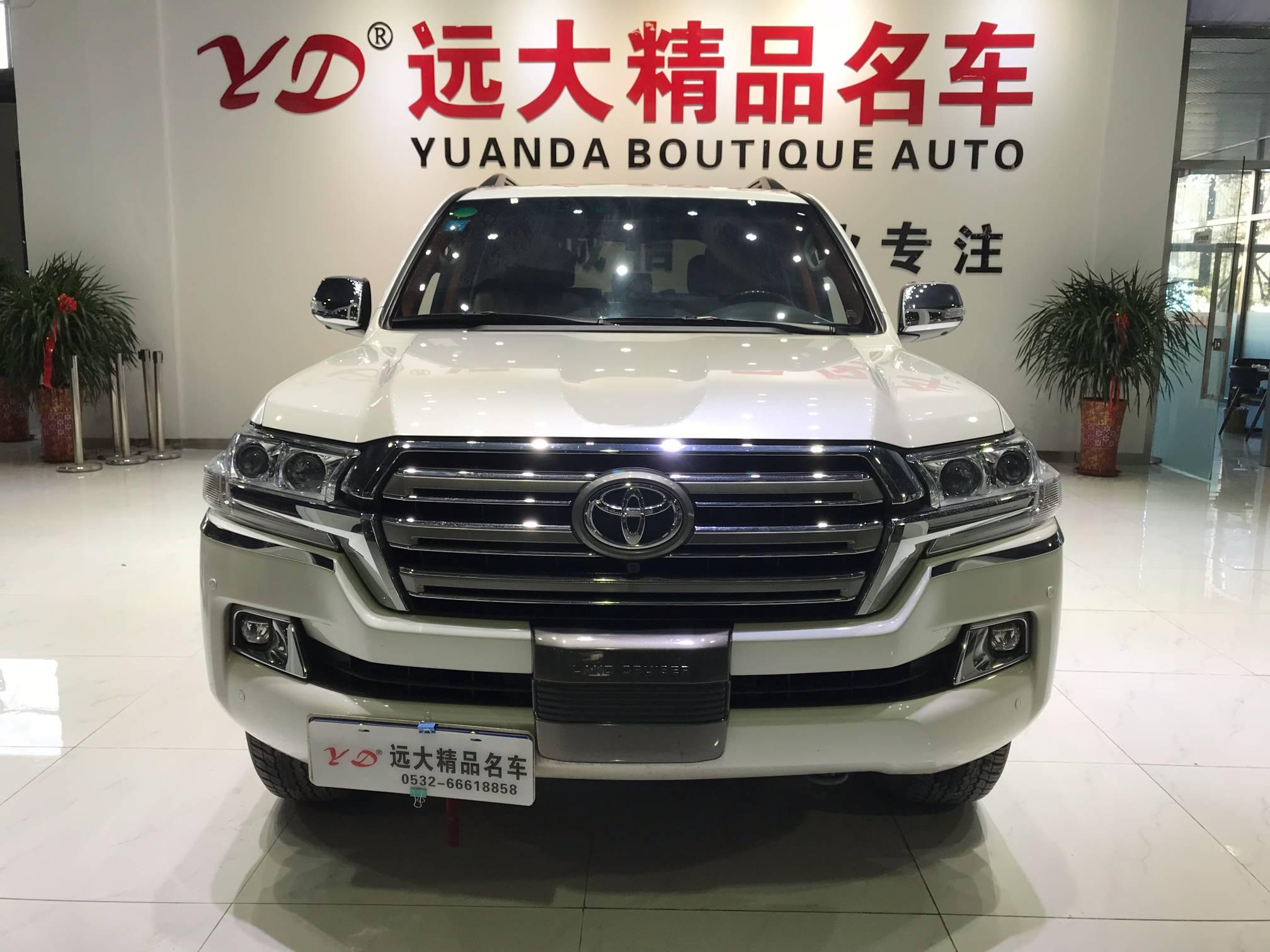 2016款 兰德酷路泽(进口) 4000  V6 中东版