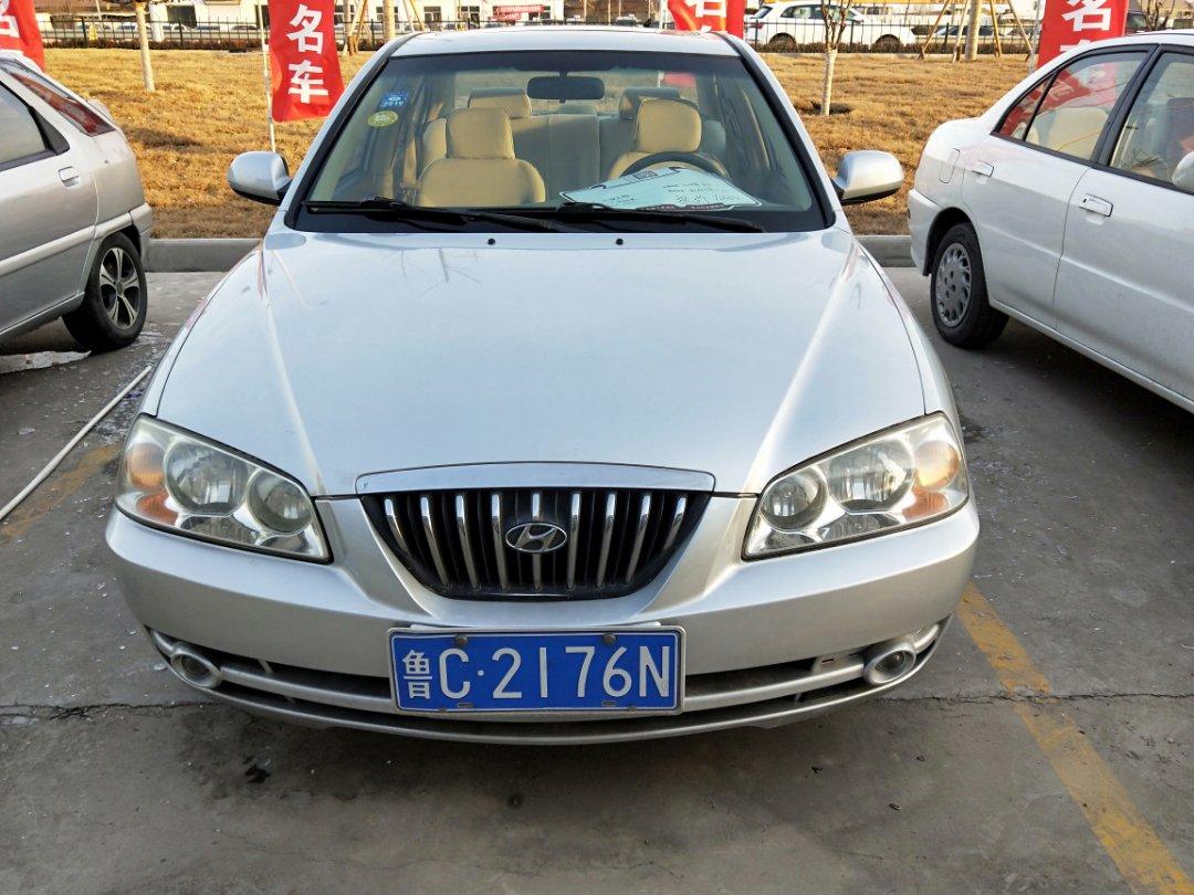 2005款  伊兰特  1.6L 手动豪华型