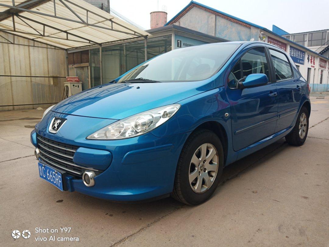 2012款  标致307  两厢 1.6L 自动舒适版