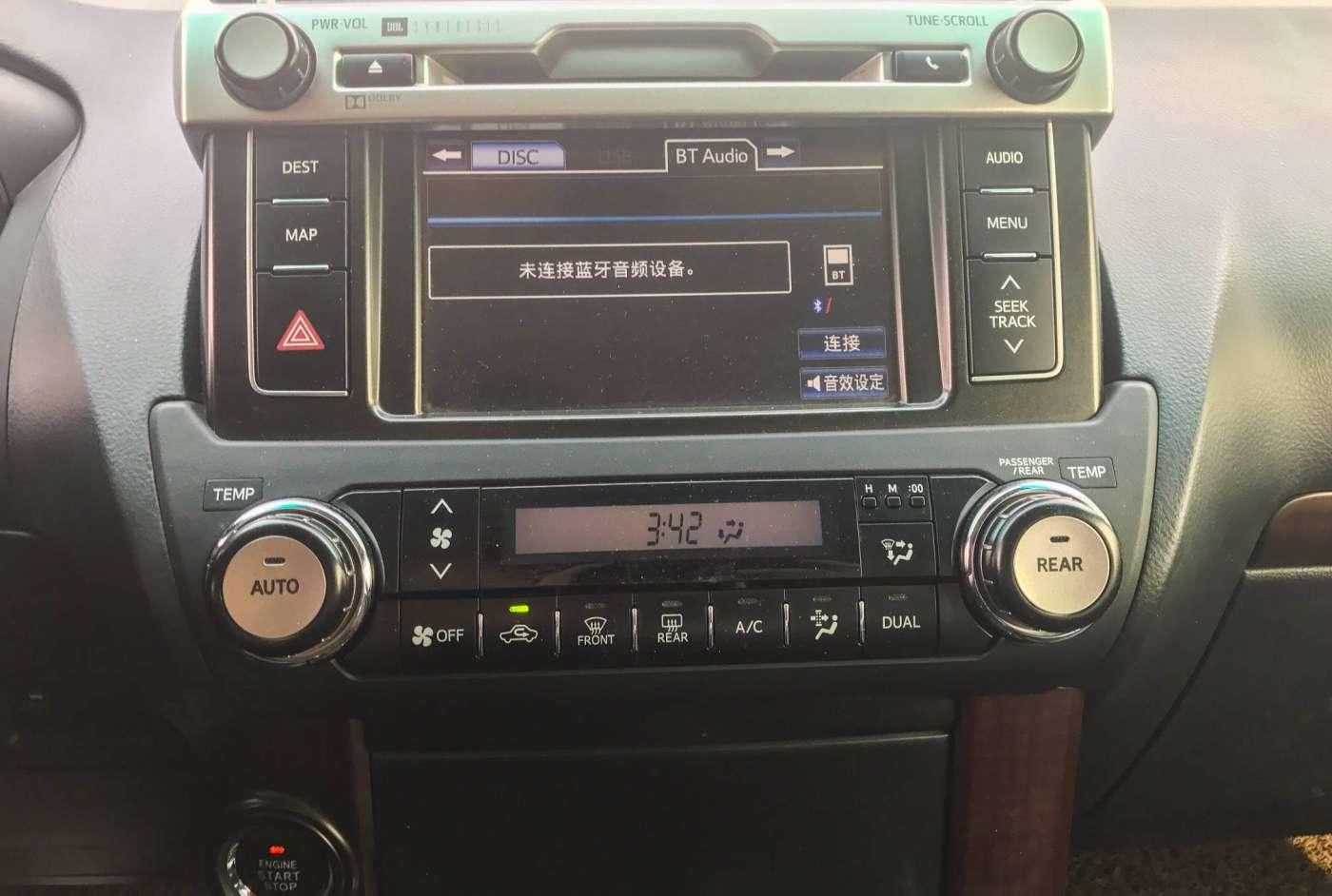 2014年03月 丰田 普拉多 2014款 4.0L TX-L NAVI|甄选丰田-北京卡斯基汽车服务有限公司