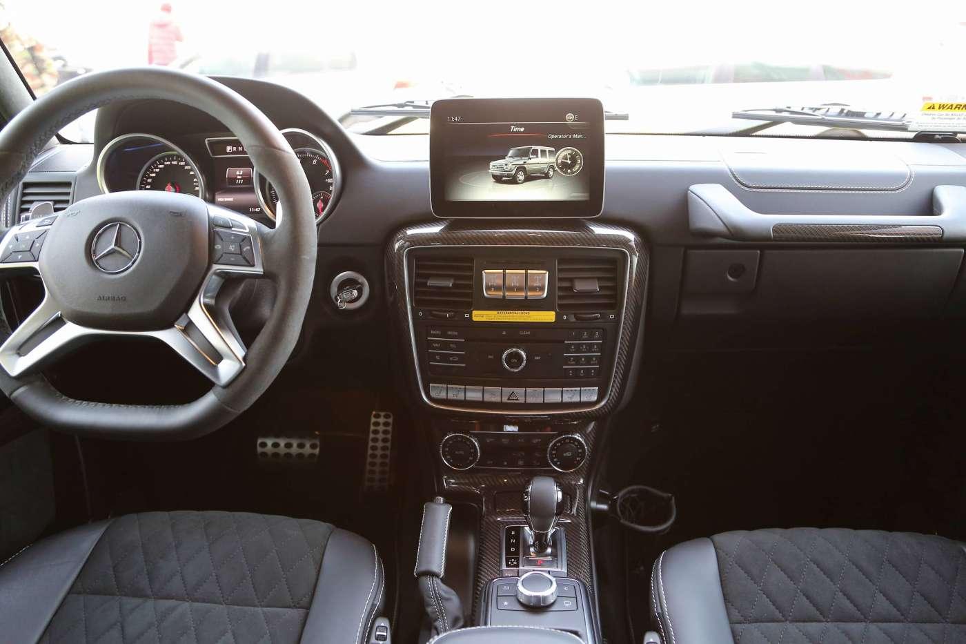 奔驰G级 2017款 G550 4x4平方|甄选奔驰-北京卡斯基汽车服务有限公司