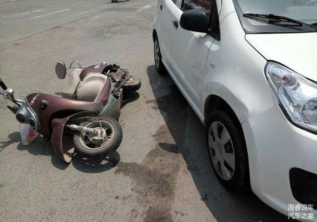 车停好好的 电动车撞上来把自己撞了 车主全责