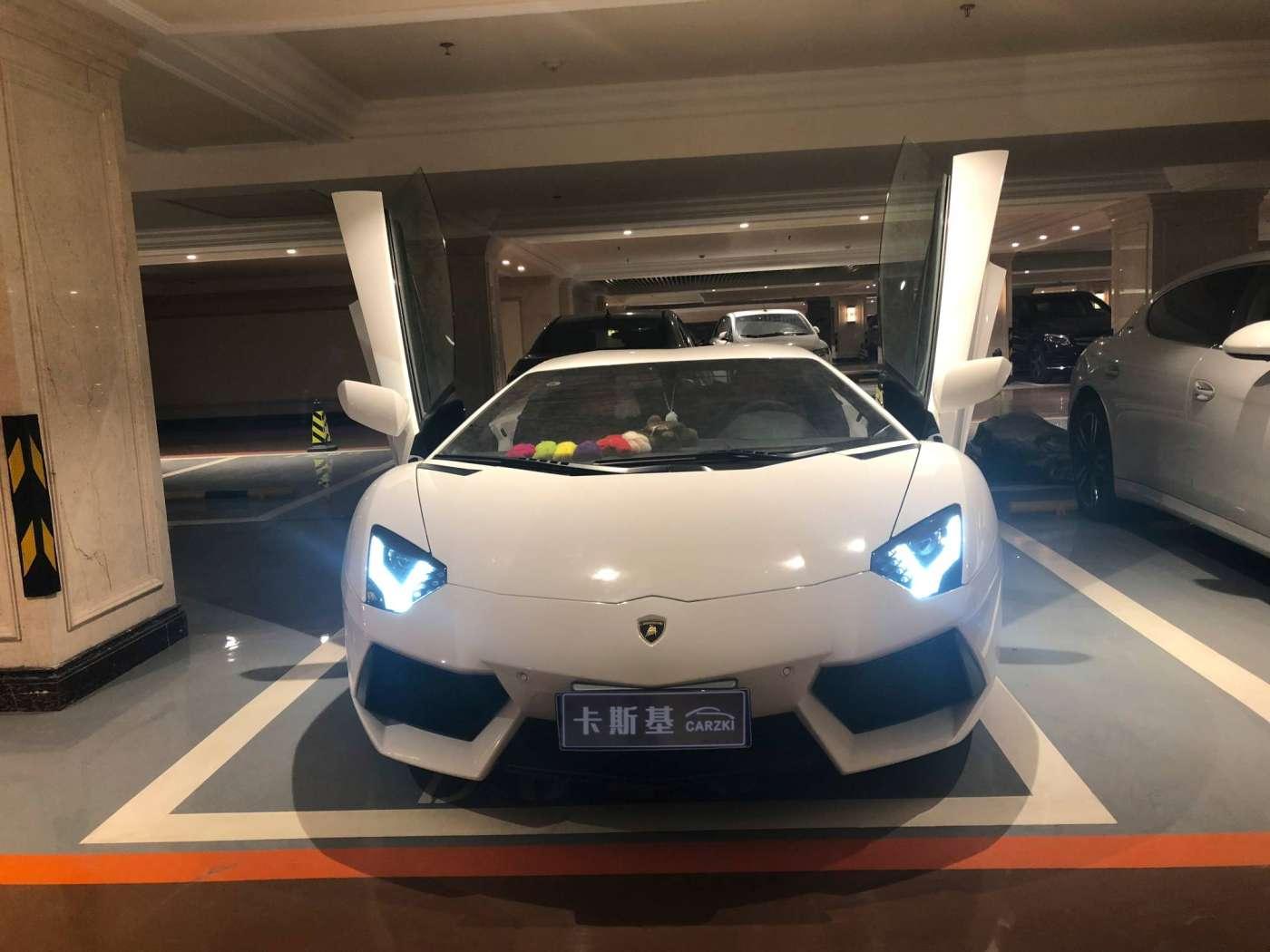 2016年01月 兰博基尼 Aventador 2013款 LP 700-4 Roadster|甄选兰博基尼-北京卡斯基汽车服务有限公司