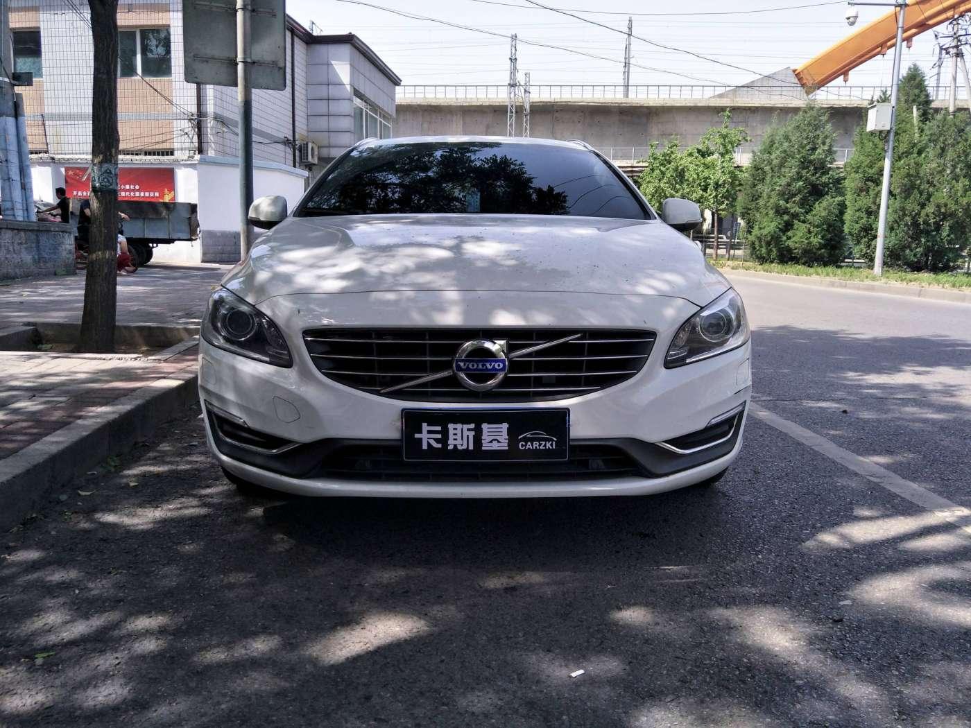 2014年09月 沃尔沃V60 2014款 改款 2.0T T5 智逸版|甄选易手车-北京卡斯基汽车服务有限公司