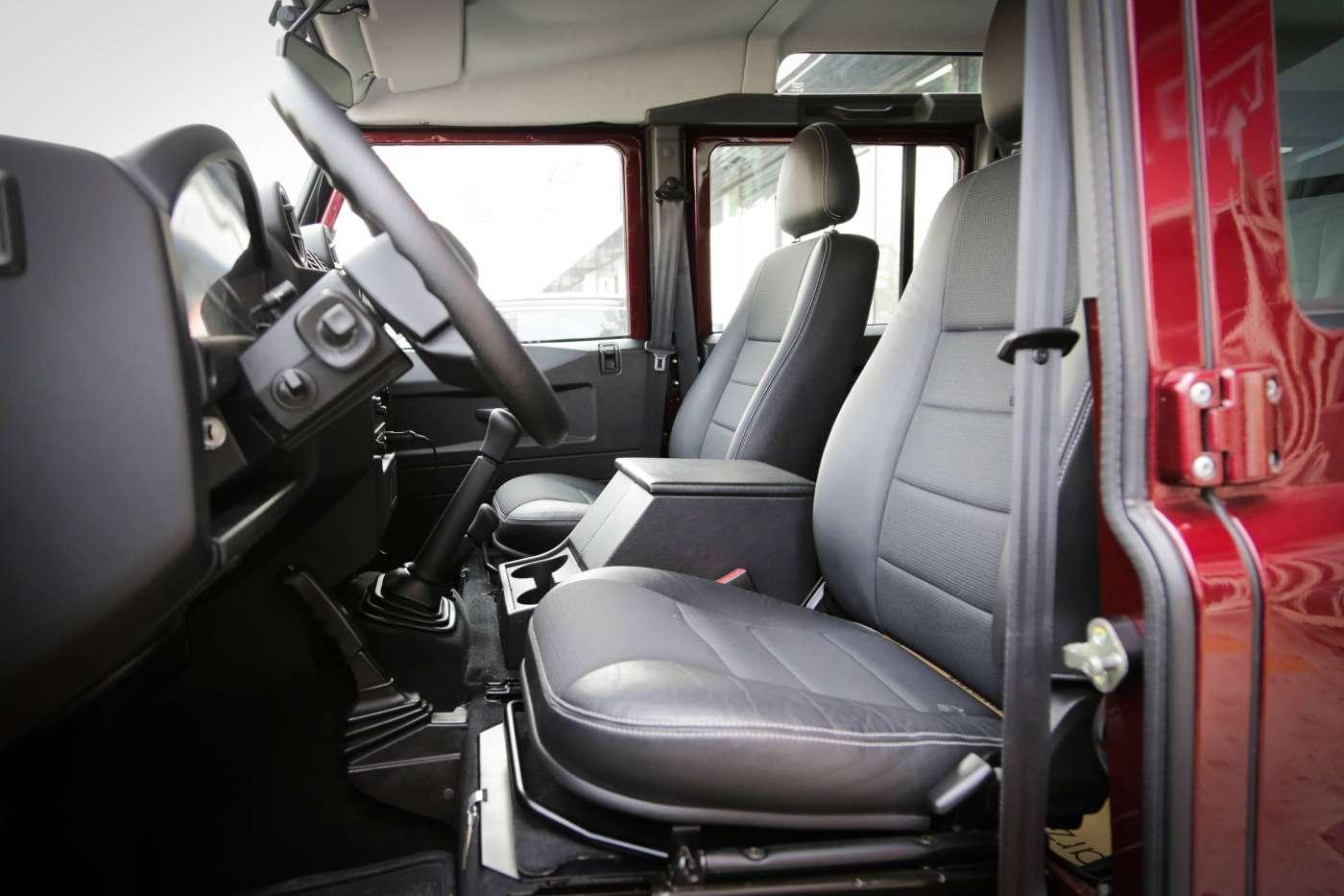 卫士110凯恩版   蒙塔奇诺红/黑|进口捷豹路虎-北京卡斯基汽车服务有限公司